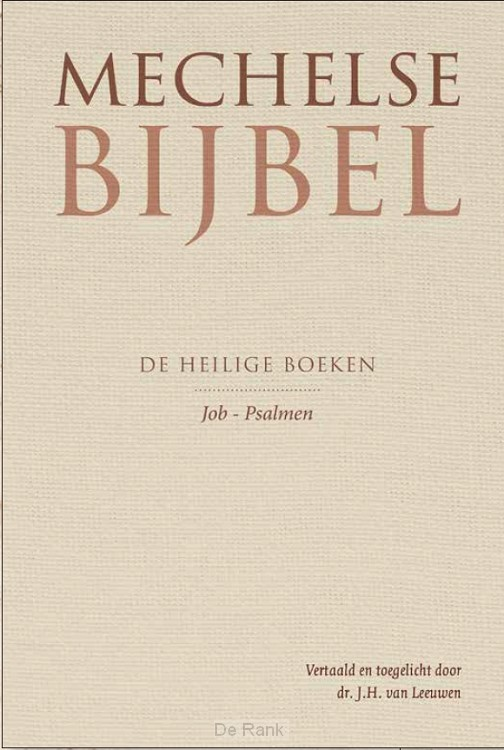 Mechelse Bijbel job - psalmen